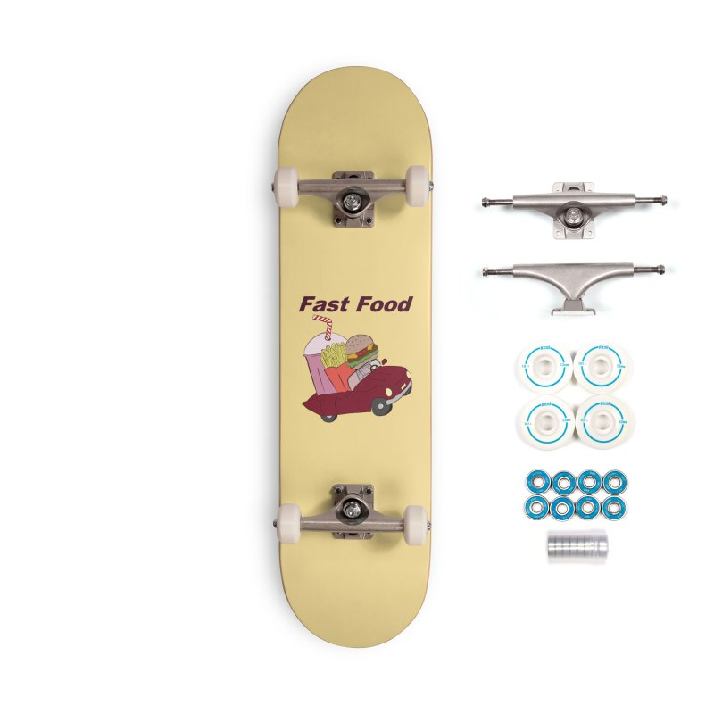Fast Food Accessories Complete - Basic Skateboard by Hello Siyi