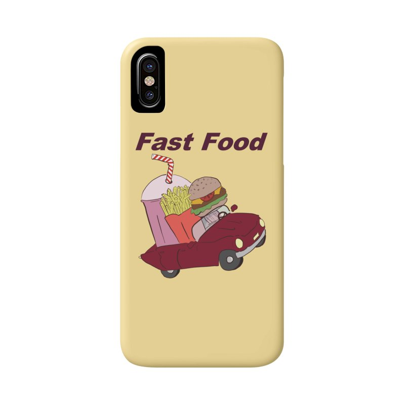Fast Food Accessories Phone Case by Hello Siyi