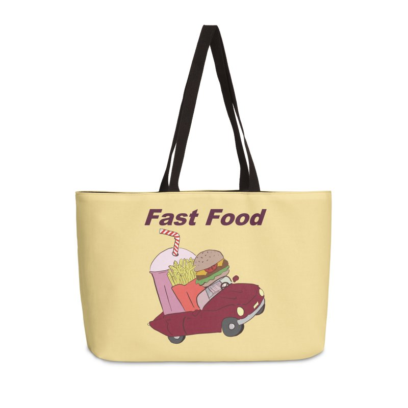 Fast Food Accessories Weekender Bag Bag by Hello Siyi
