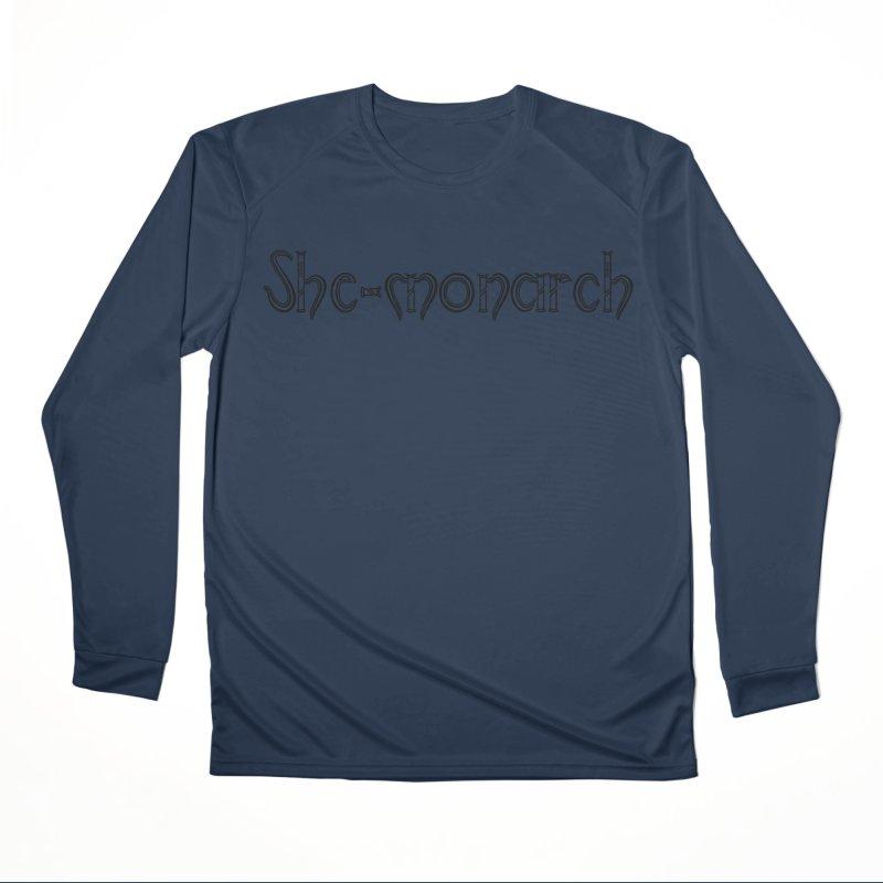 She-Monarch Women's Performance Unisex Longsleeve T-Shirt by Hello Siyi