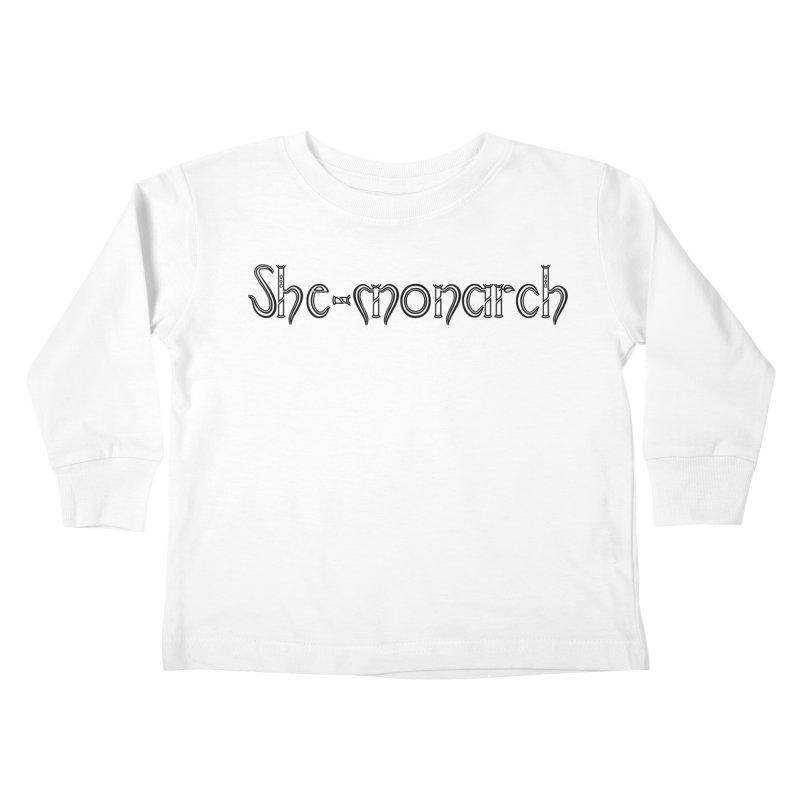 She-Monarch Kids Toddler Longsleeve T-Shirt by Hello Siyi