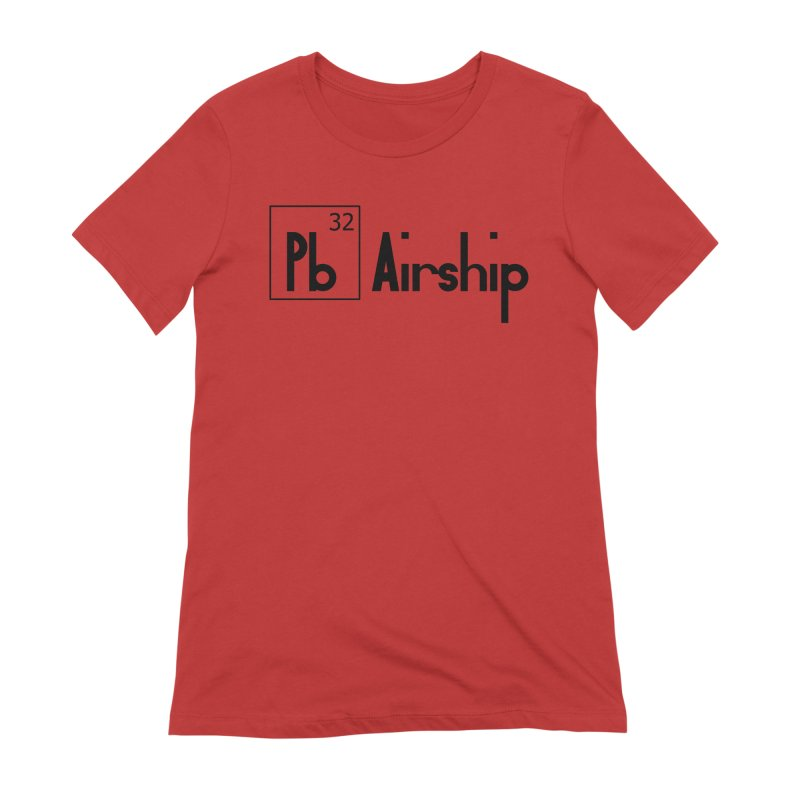 Pb Airship Women's Extra Soft T-Shirt by Hello Siyi