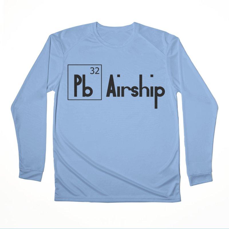 Pb Airship Women's Performance Unisex Longsleeve T-Shirt by Hello Siyi
