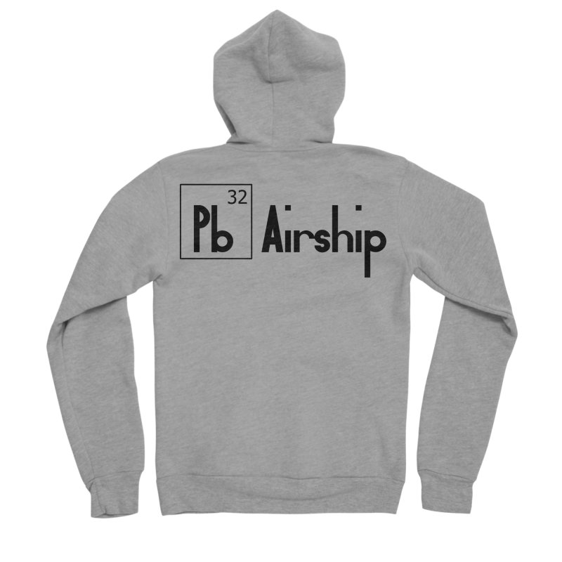 Pb Airship Men's Sponge Fleece Zip-Up Hoody by Hello Siyi