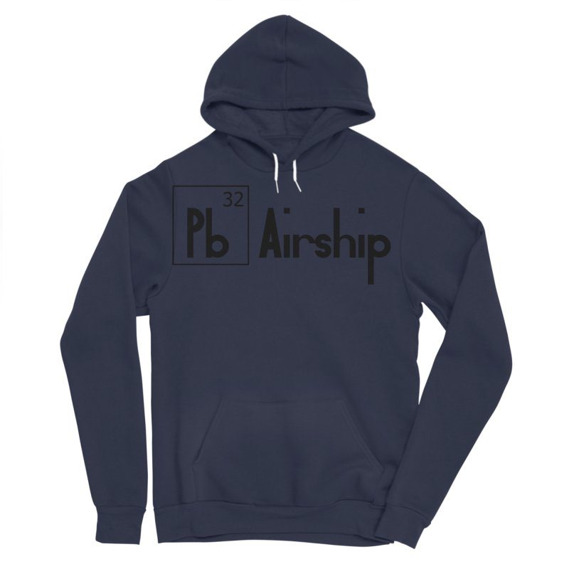 Pb Airship Men's Sponge Fleece Pullover Hoody by Hello Siyi