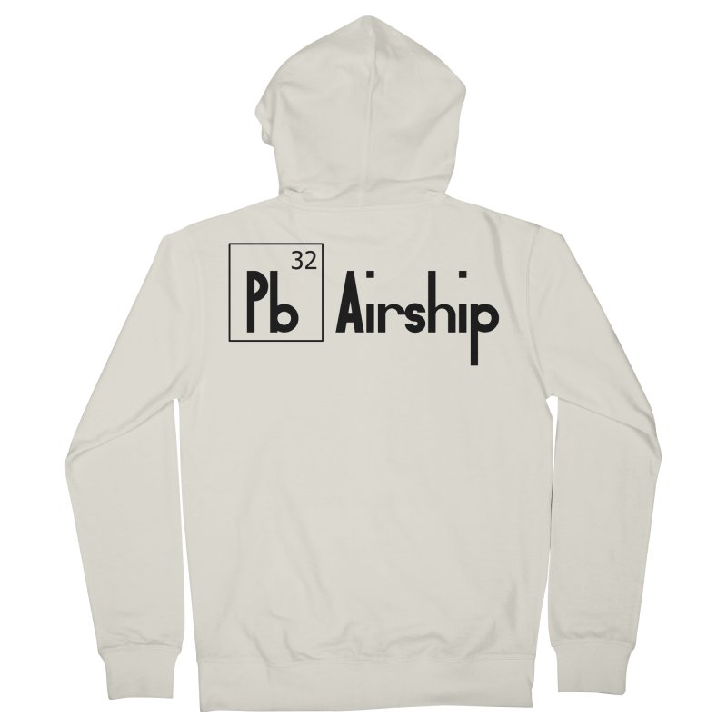 Pb Airship Men's French Terry Zip-Up Hoody by Hello Siyi