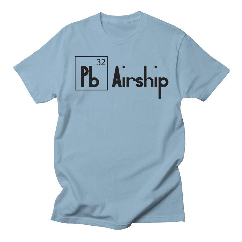 Pb Airship Men's Regular T-Shirt by Hello Siyi
