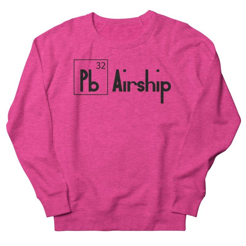 Pb Airship Women's French Terry Sweatshirt by Hello Siyi