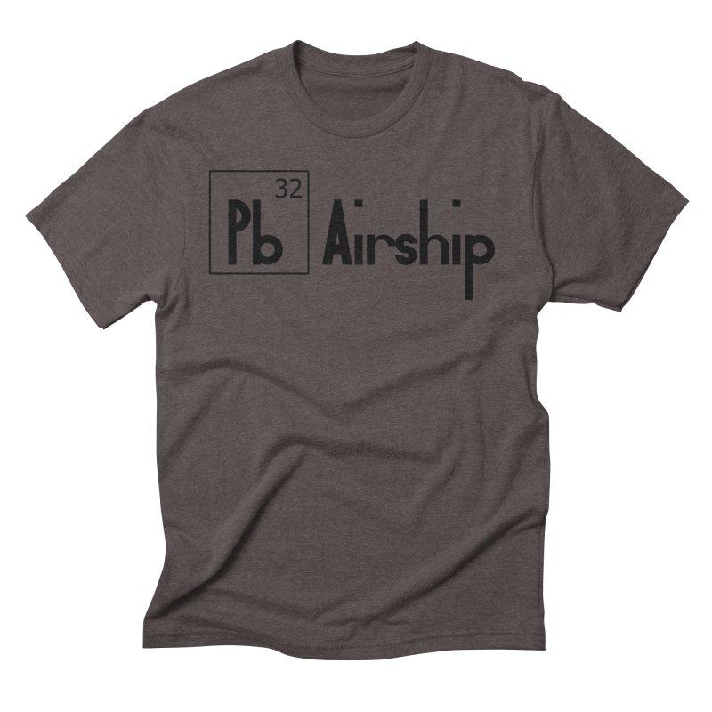 Pb Airship Men's Triblend T-Shirt by Hello Siyi