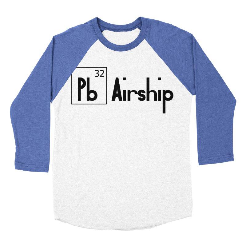 Pb Airship Women's Baseball Triblend Longsleeve T-Shirt by Hello Siyi