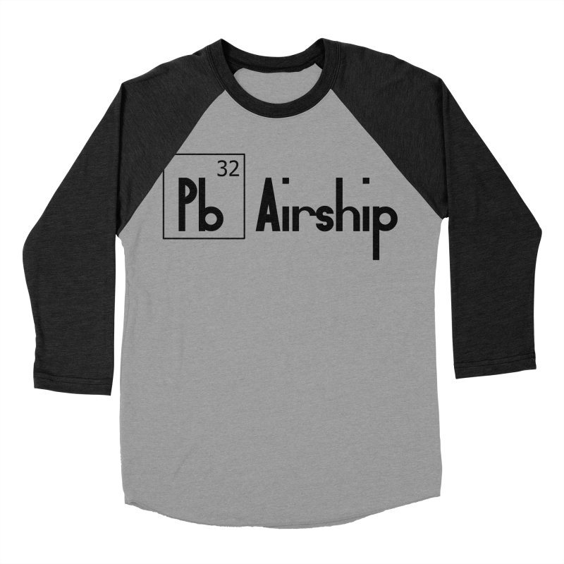 Pb Airship Women's Baseball Triblend Longsleeve T-Shirt by Hello Siyi