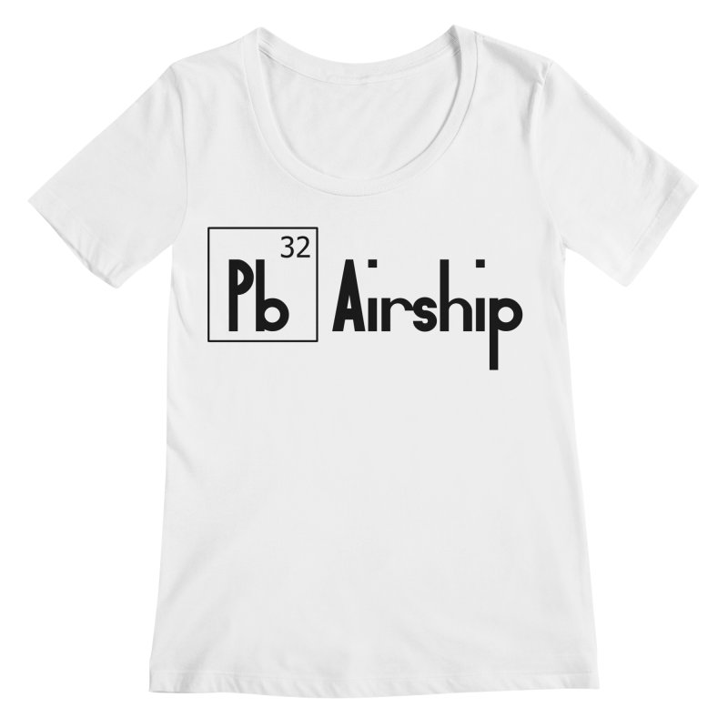 Pb Airship Women's Regular Scoop Neck by Hello Siyi