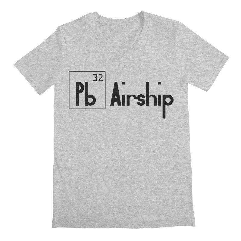 Pb Airship Men's Regular V-Neck by Hello Siyi