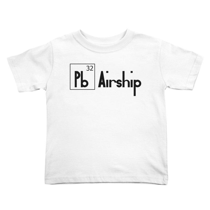 Pb Airship Kids Toddler T-Shirt by Hello Siyi