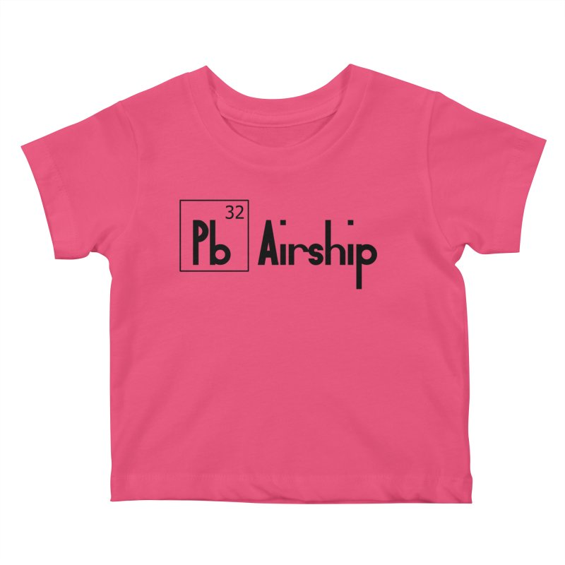 Pb Airship Kids Baby T-Shirt by Hello Siyi