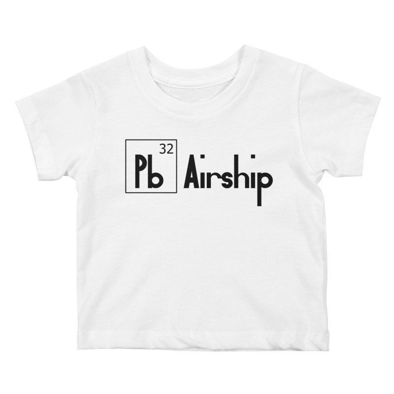 Pb Airship Kids Baby T-Shirt by Hello Siyi