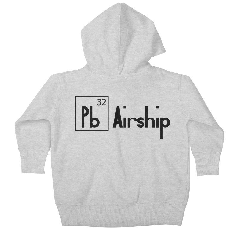 Pb Airship Kids Baby Zip-Up Hoody by Hello Siyi