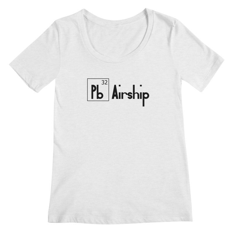 Pb Airship Women's Regular Scoop Neck by Hello Siyi