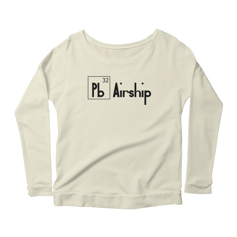 Pb Airship Women's Scoop Neck Longsleeve T-Shirt by Hello Siyi