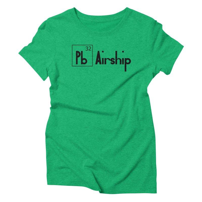 Pb Airship Women's Triblend T-Shirt by Hello Siyi