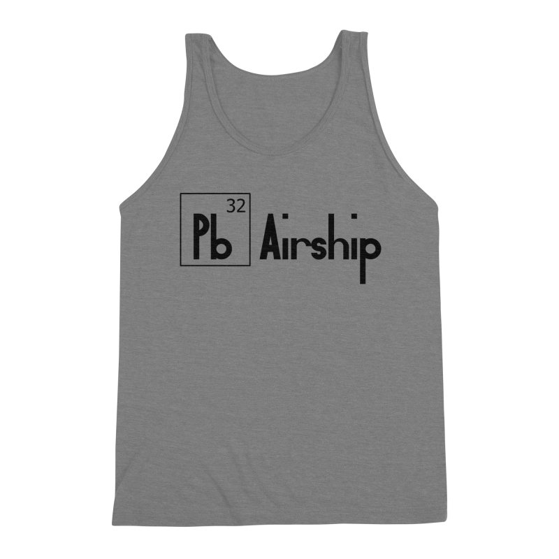 Pb Airship Men's Triblend Tank by Hello Siyi