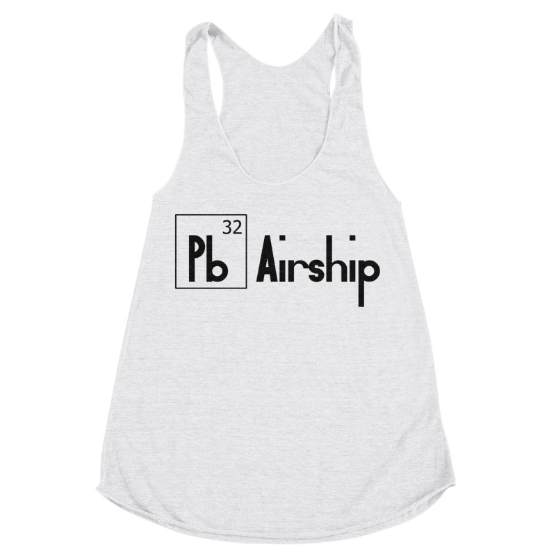 Pb Airship Women's Racerback Triblend Tank by Hello Siyi