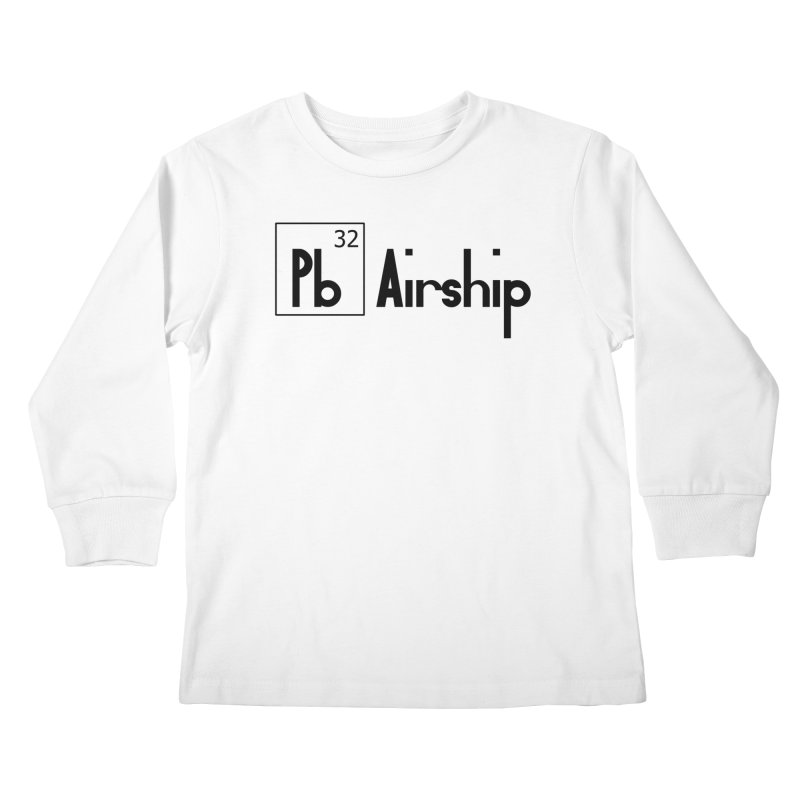 Pb Airship Kids Longsleeve T-Shirt by Hello Siyi