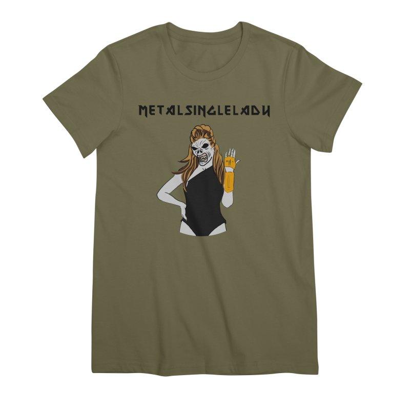 Metal Single Lady Women's Premium T-Shirt by Hello Siyi
