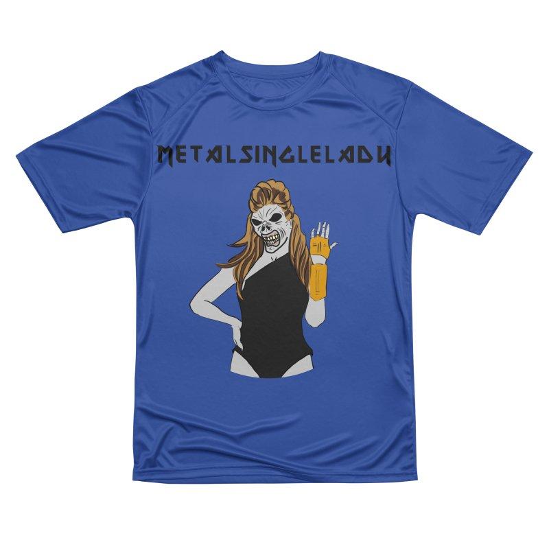 Metal Single Lady Men's Performance T-Shirt by Hello Siyi