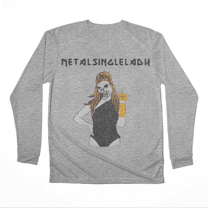 Metal Single Lady Women's Performance Unisex Longsleeve T-Shirt by Hello Siyi