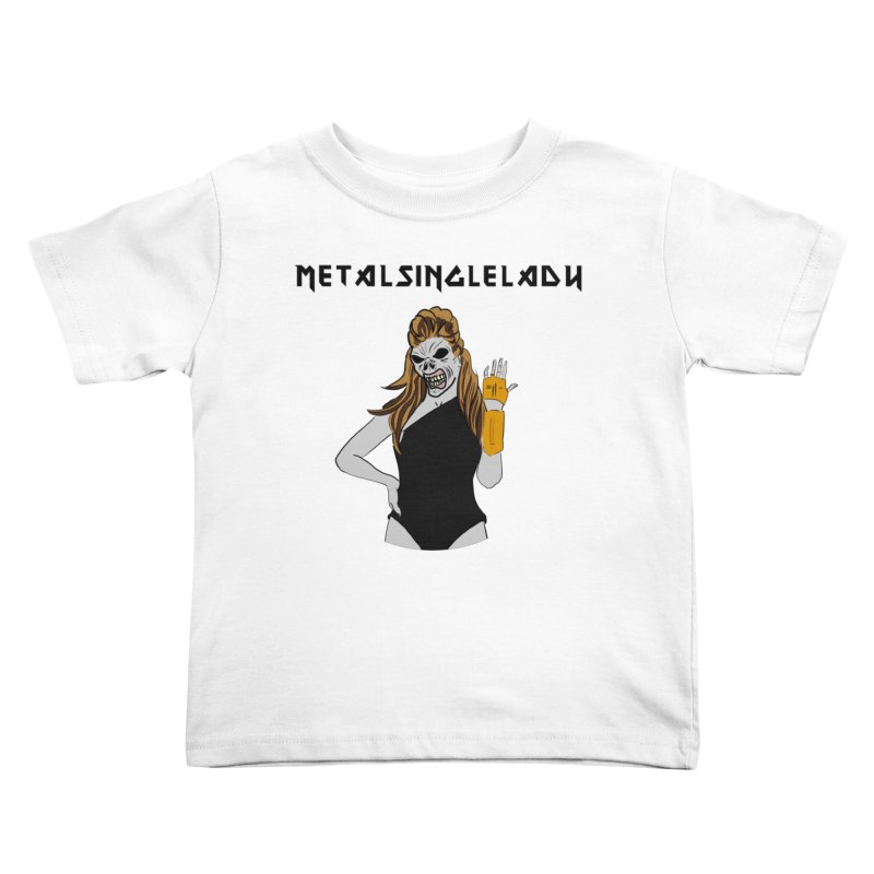 Metal Single Lady Kids Toddler T-Shirt by Hello Siyi