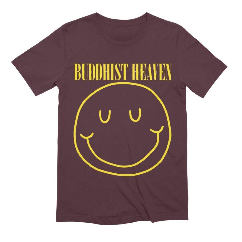 Buddhist Heaven Men's Extra Soft T-Shirt by Hello Siyi
