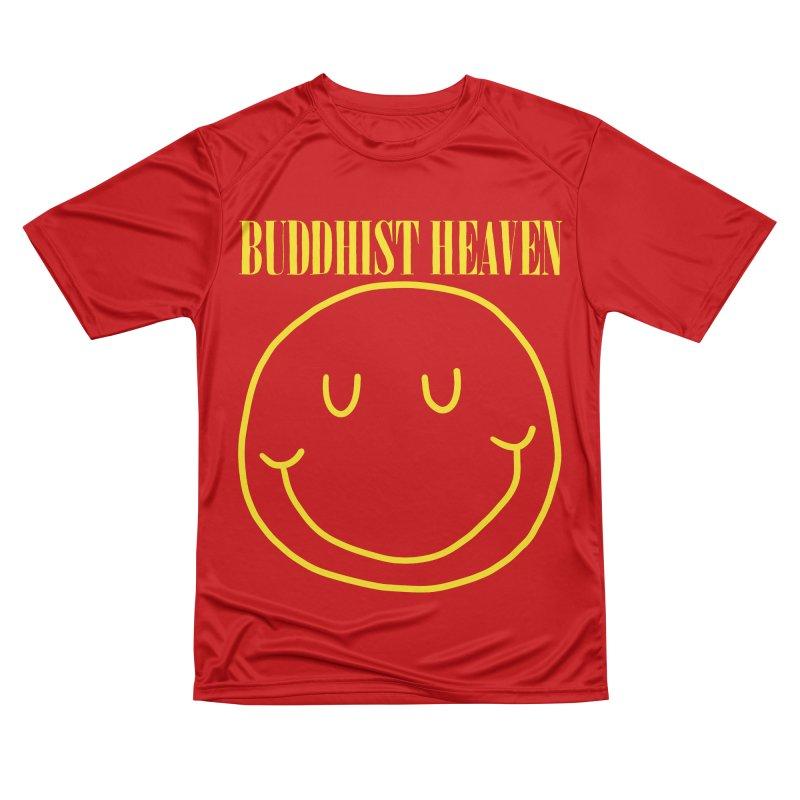 Buddhist Heaven Men's Performance T-Shirt by Hello Siyi