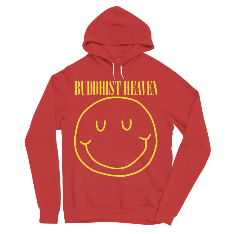 Buddhist Heaven Men's Sponge Fleece Pullover Hoody by Hello Siyi