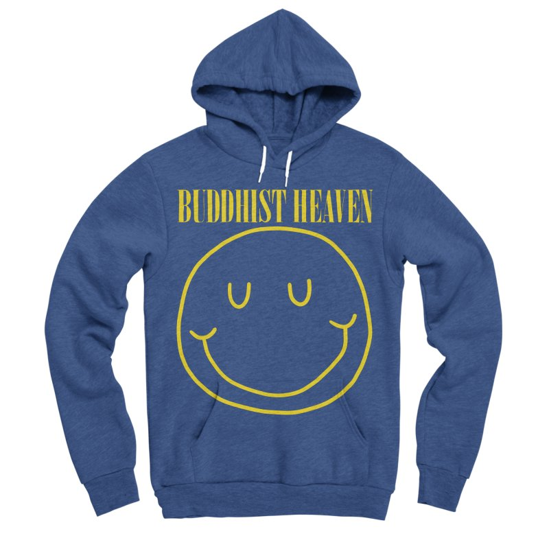 Buddhist Heaven Men's Sponge Fleece Pullover Hoody by Hello Siyi