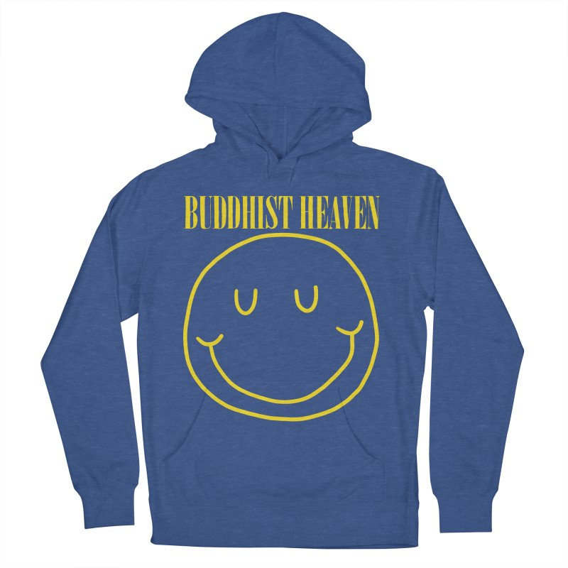 Buddhist Heaven Women's French Terry Pullover Hoody by Hello Siyi