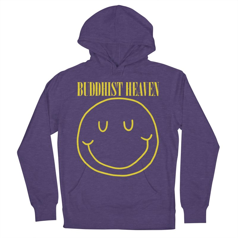 Buddhist Heaven Men's French Terry Pullover Hoody by Hello Siyi