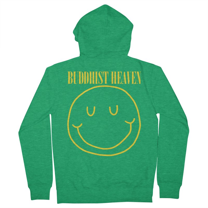 Buddhist Heaven Men's French Terry Zip-Up Hoody by Hello Siyi