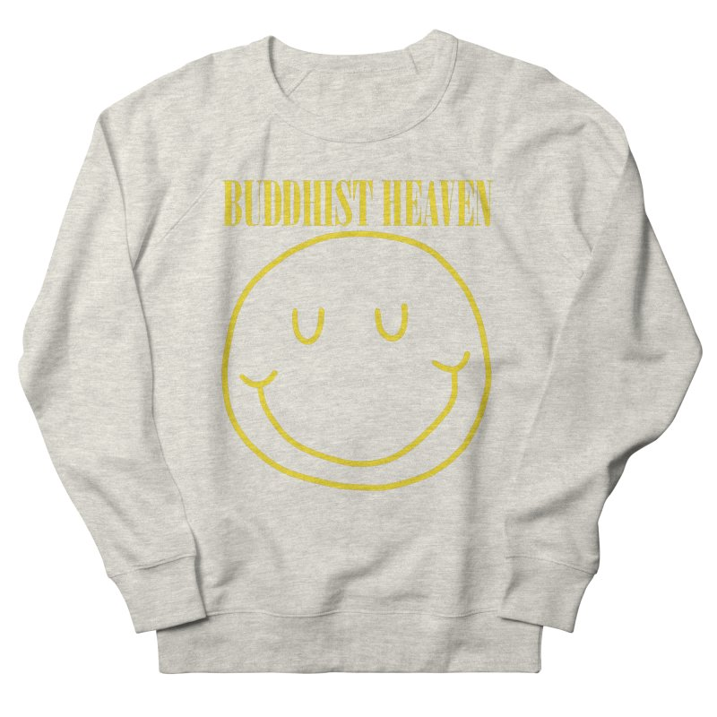 Buddhist Heaven Men's French Terry Sweatshirt by Hello Siyi