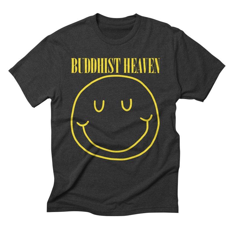 Buddhist Heaven Men's Triblend T-Shirt by Hello Siyi