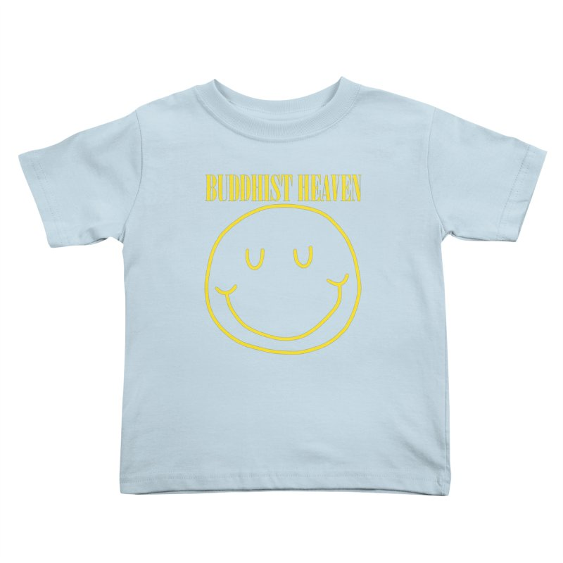 Buddhist Heaven Kids Toddler T-Shirt by Hello Siyi