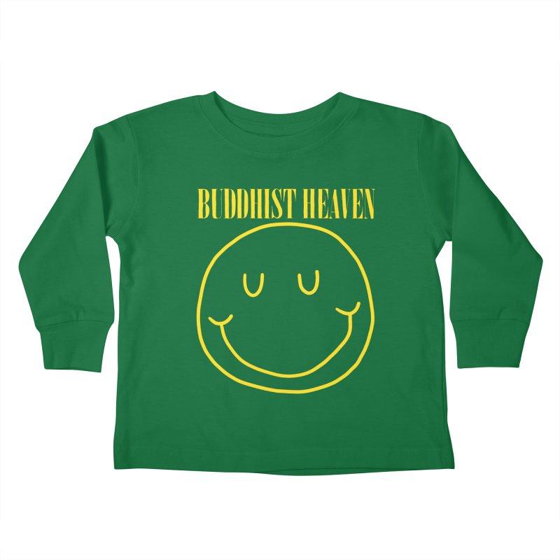 Buddhist Heaven Kids Toddler Longsleeve T-Shirt by Hello Siyi