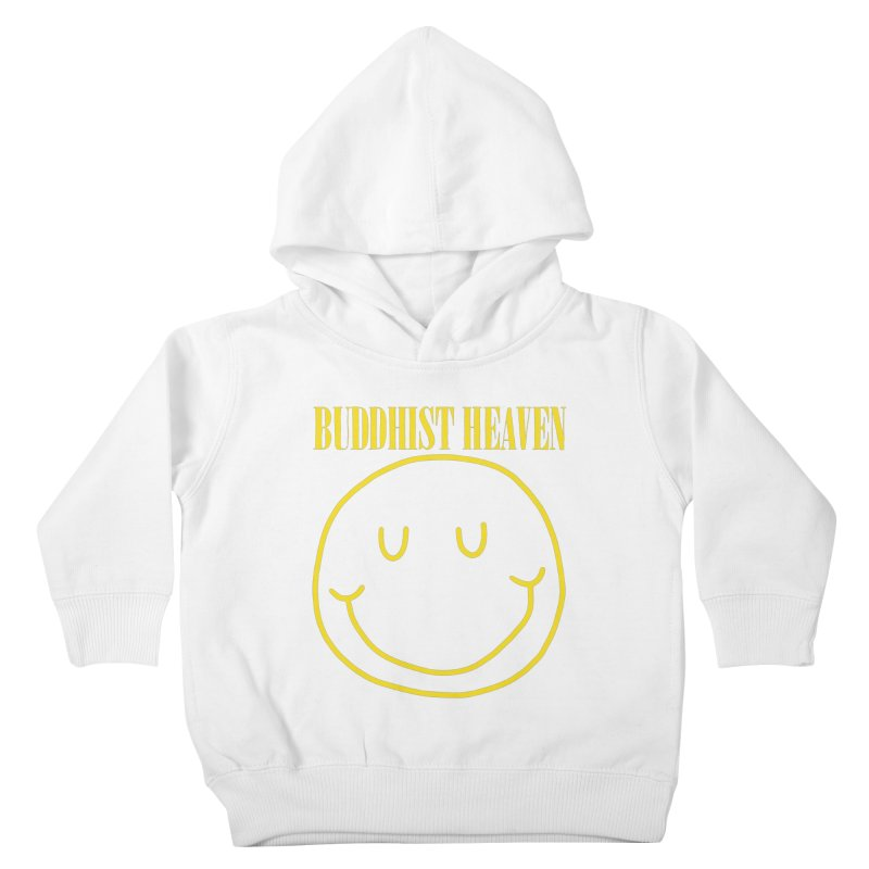 Buddhist Heaven Kids Toddler Pullover Hoody by Hello Siyi