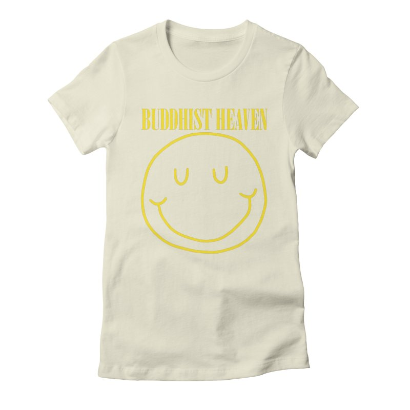 Buddhist Heaven Women's Fitted T-Shirt by Hello Siyi
