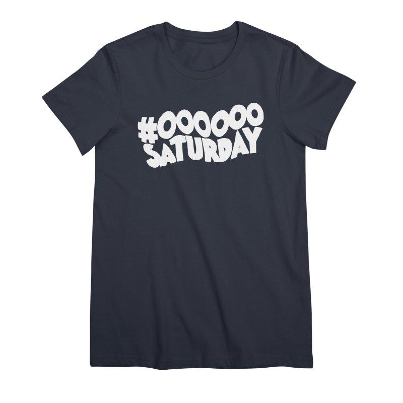 #000000 Saturday Women's Premium T-Shirt by Hello Siyi