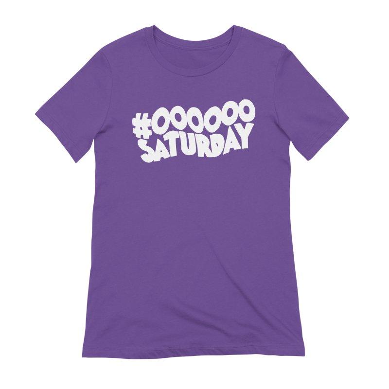 #000000 Saturday Women's Extra Soft T-Shirt by Hello Siyi