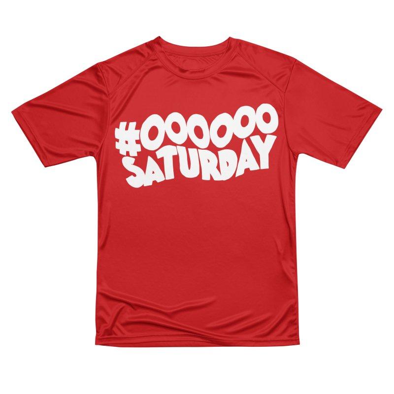 #000000 Saturday Women's Performance Unisex T-Shirt by Hello Siyi