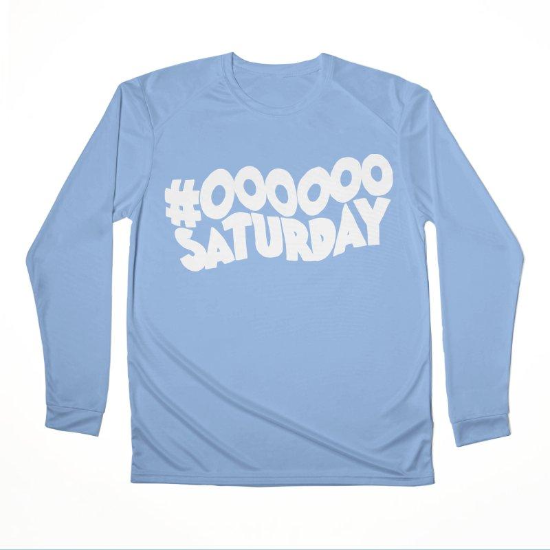 #000000 Saturday Men's Performance Longsleeve T-Shirt by Hello Siyi