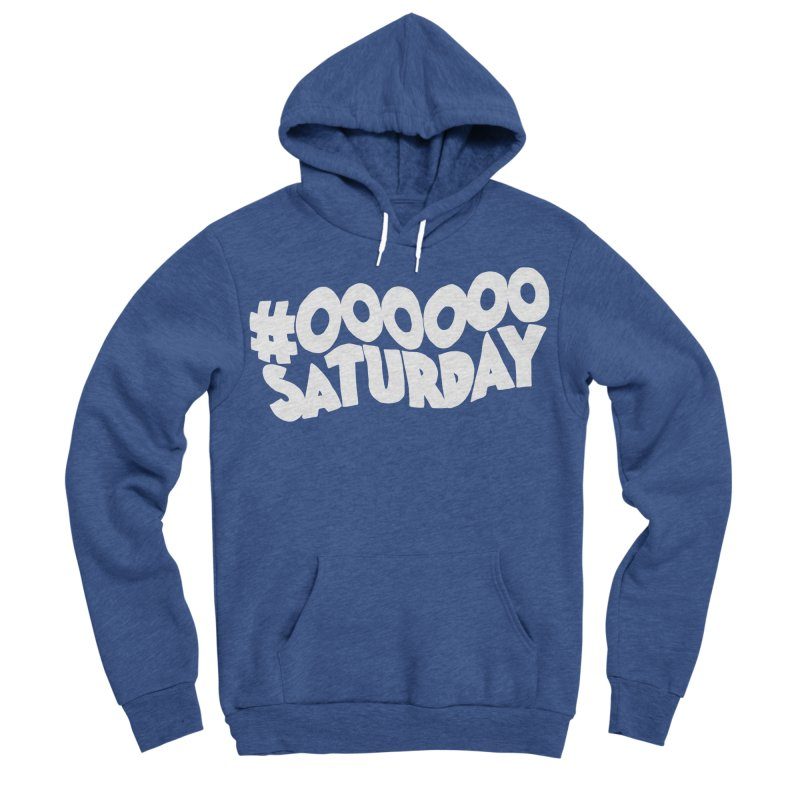 #000000 Saturday Women's Sponge Fleece Pullover Hoody by Hello Siyi