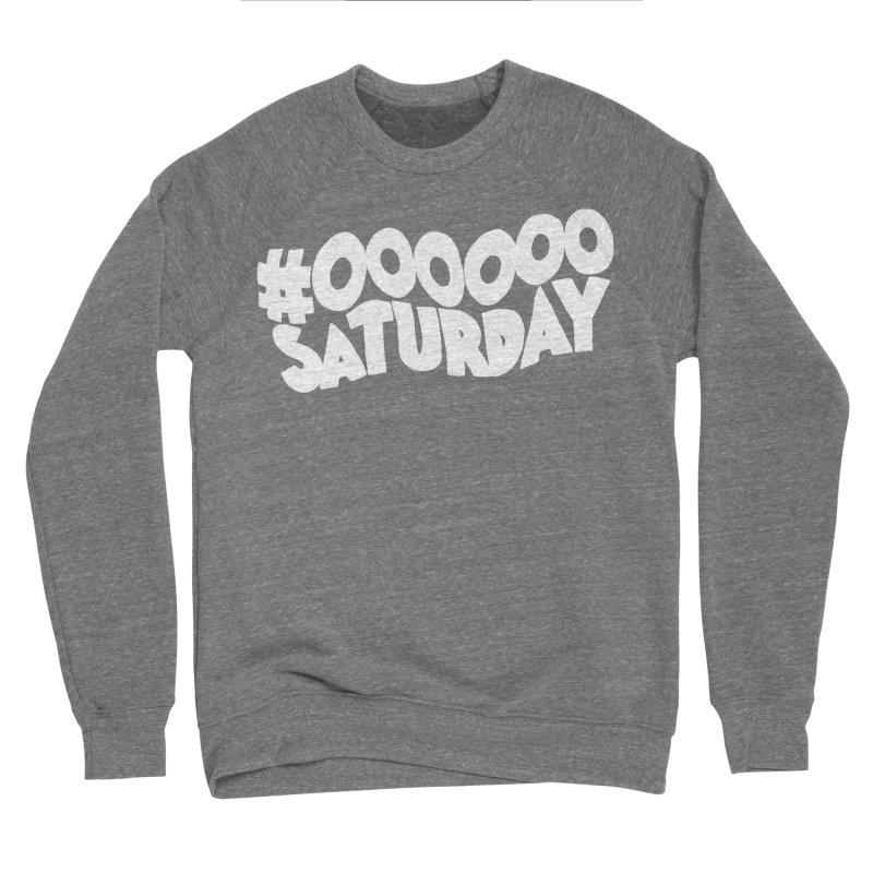 #000000 Saturday Women's Sponge Fleece Sweatshirt by Hello Siyi